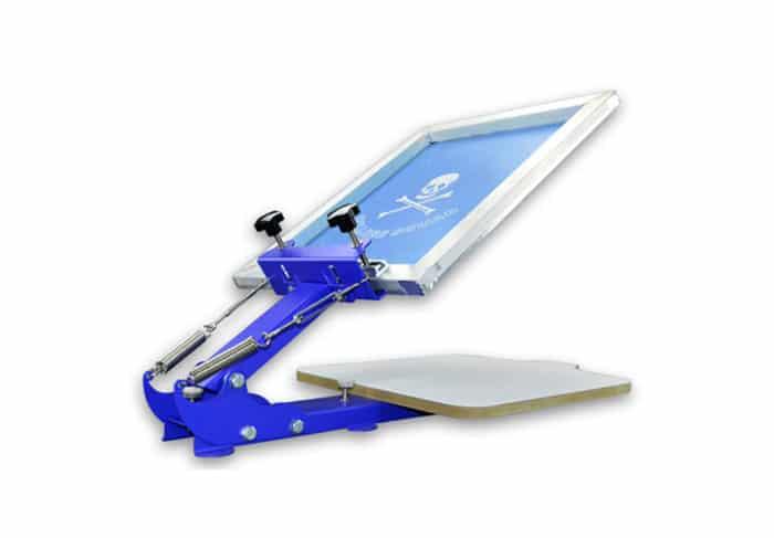 MK-T11A One Color Screen Printing Machine | Screen Printing Machine Manufacturer