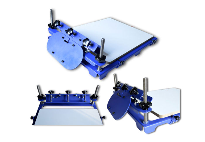 MK-T11F micro-adjust one color screen printing machine | Screen Printing Machine Manufacturer