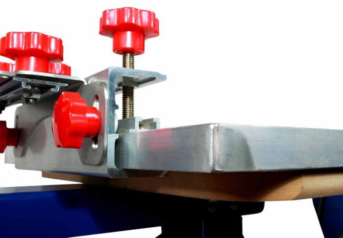 MK-F882E floor type 8 color 8 station double wheel screen printing machine   Screen Printing Machine Manufacturer
