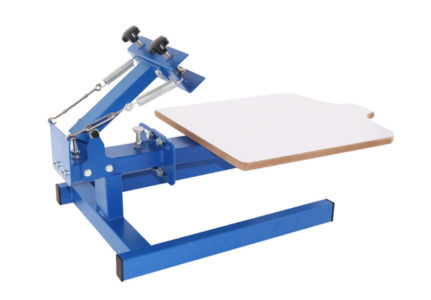 Table-board Fixed 1 Color 1 Station T-Shirt Silk Screen Printing Machine