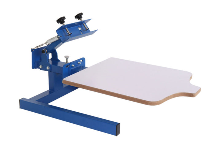 MK101-M 1 color 1 Station Screen Printing Machine | Screen Printing Machine Manufacturer