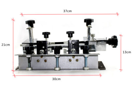 MK103 1 color 3 station micro-adjustable screen printing machine