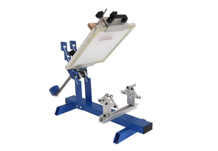 1 color manual t shirt screen printing machine