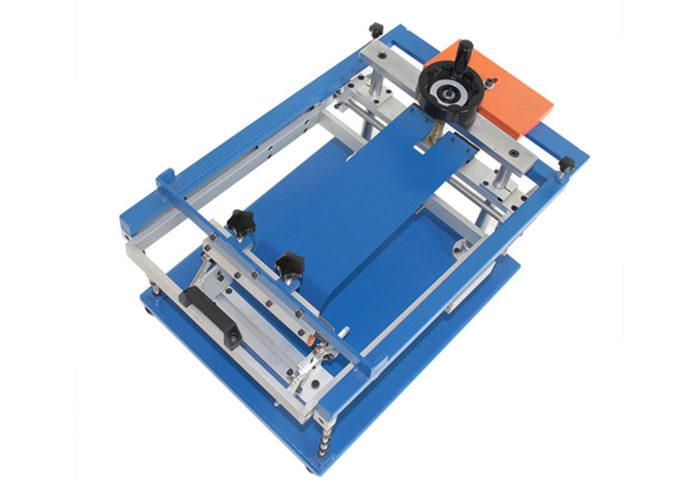 MK202-M Manual cylindrical round silk screen printer   Screen Printing Machine Manufacturer