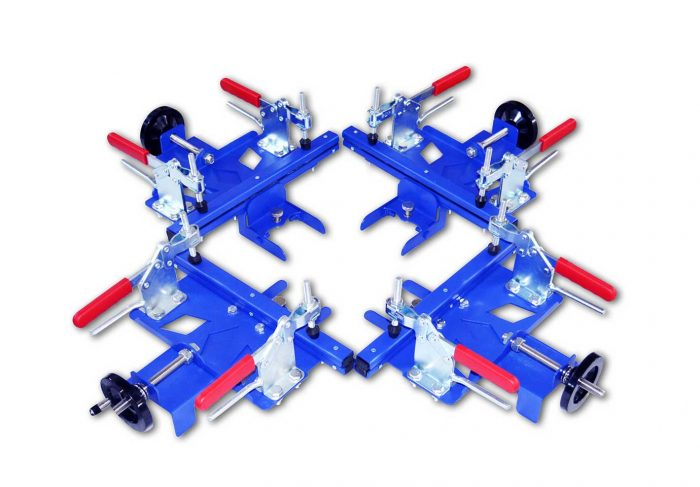 MK-MS30-40-50-60 Any Combined of Manual Screen Stretcher | Screen Printing Machine Manufacturer