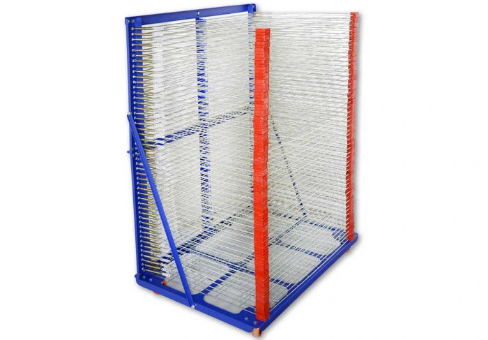 MK-DR9065-3D50 Layers Screen Drying Rack | Screen Printing Machine Manufacturer
