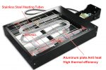 MK-F40401-1600W floor type movable dryer | Screen Printing Machine Manufacturer