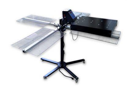 MK-FUCF40404-1600W Photoeletric control rotary four platform carbon fiber dryer